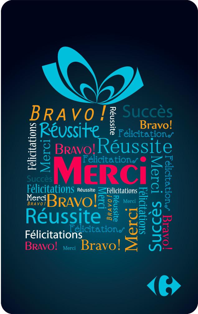 Carte Cadeau Carrefour Utilisable En Ligne.Carte Cadeau Carrefour Merci Carrefour Pro