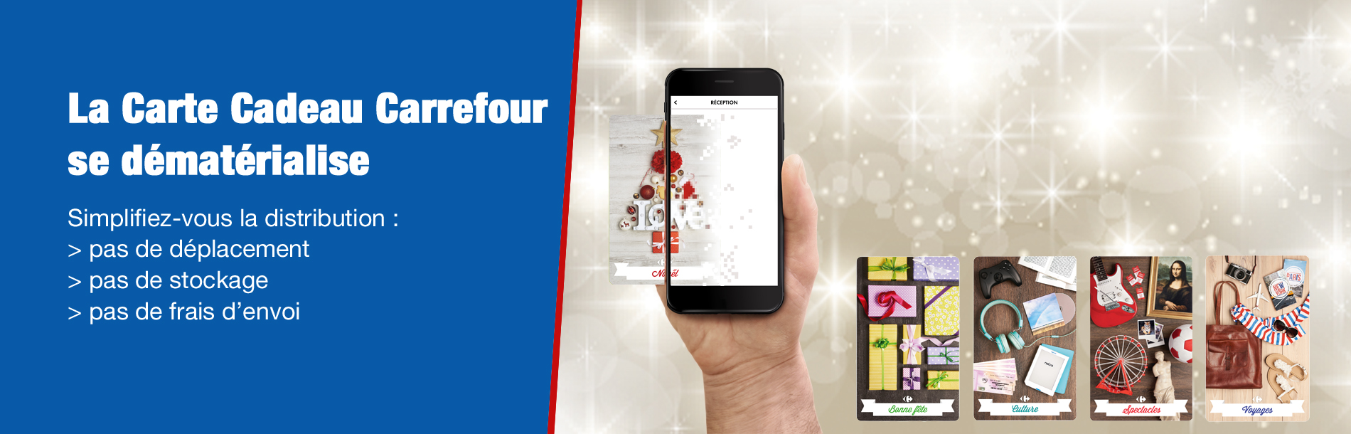Cartes Cadeaux Carrefour Carrefour Pro
